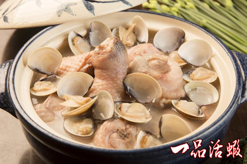 蒜頭蛤蠣雞湯 (3)